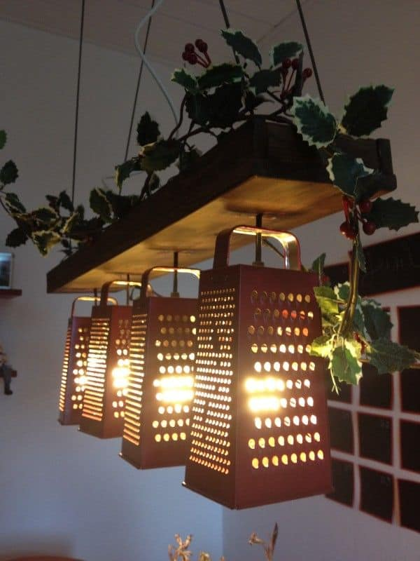 #9 hanging grater shade diy idea for your home