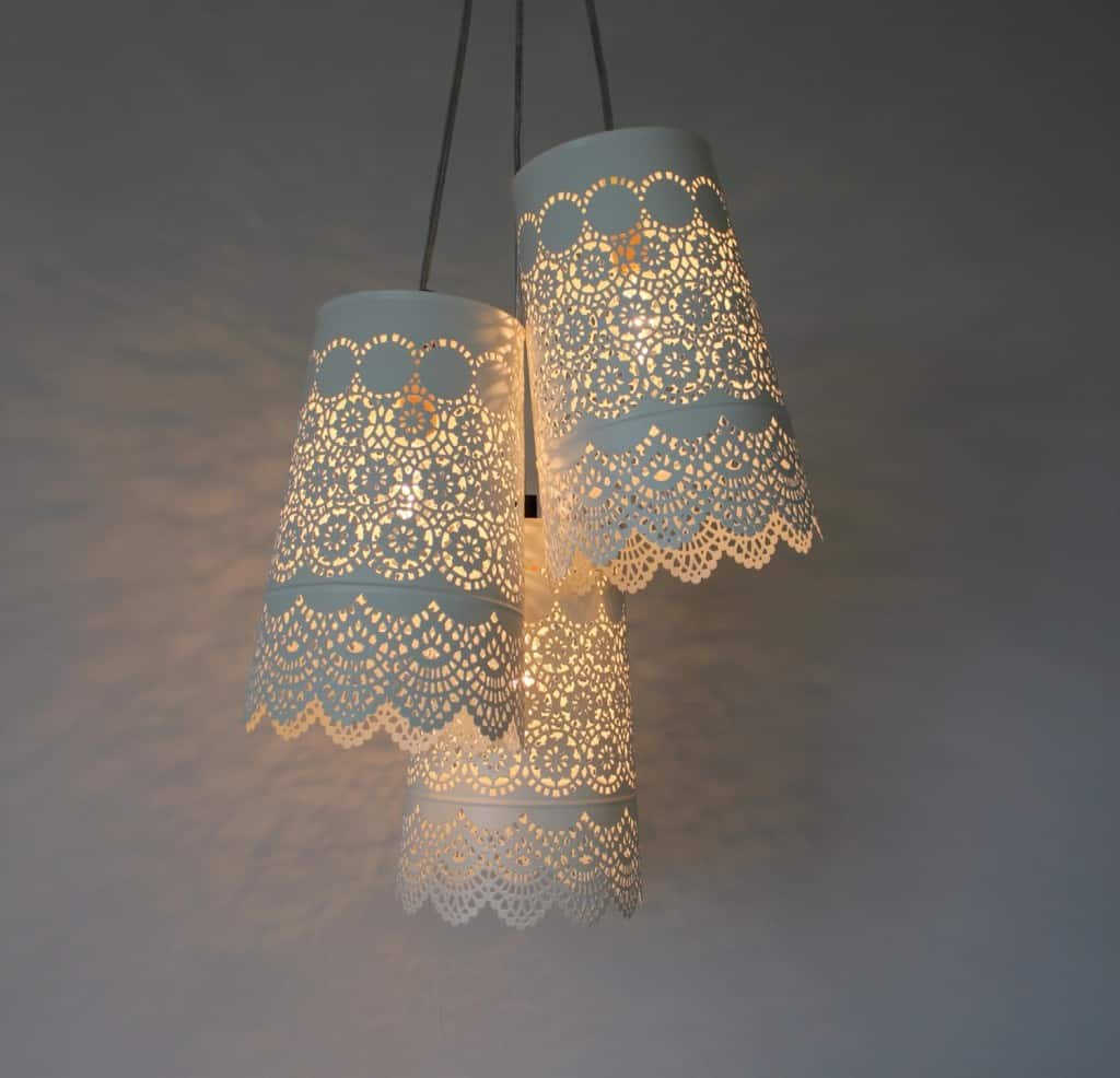 20 Interesting Do It Yourself Chandelier and Lampshade ...