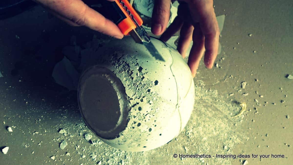 Learn How To Create A DIY Concrete Garden Decorative Ball In A Few ...