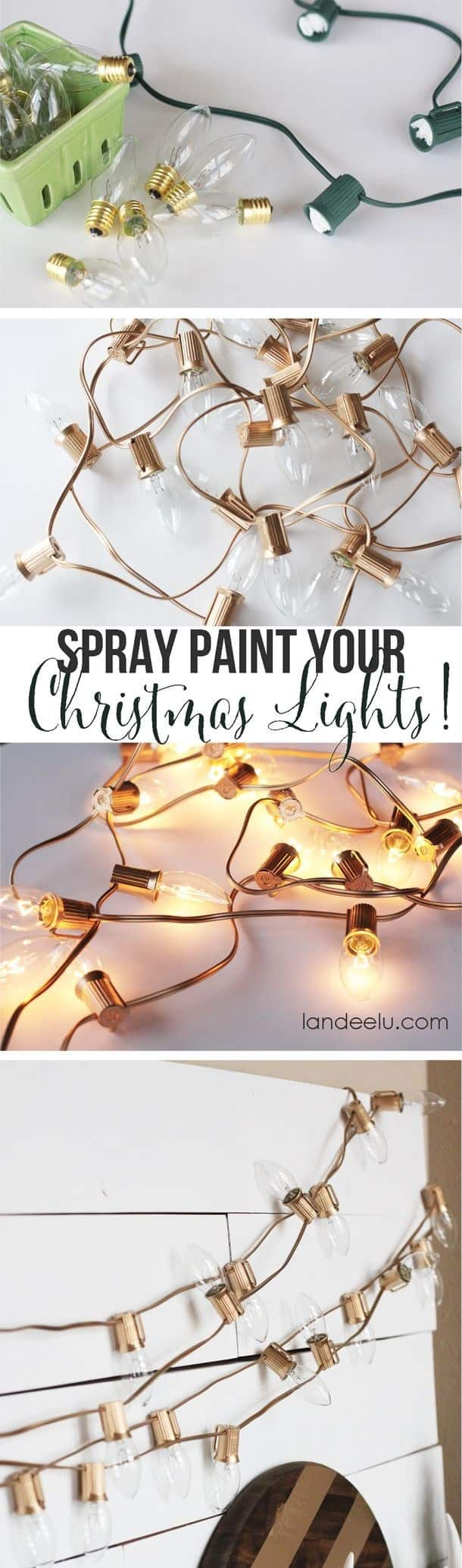 Ways You Can Spray Paint Old Objects In And Around Your Home To Make It Look