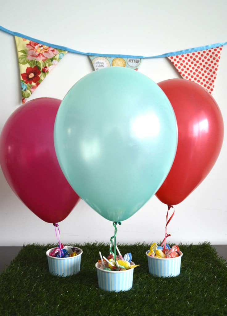 Ways to use balloon decorations in shower celebrations