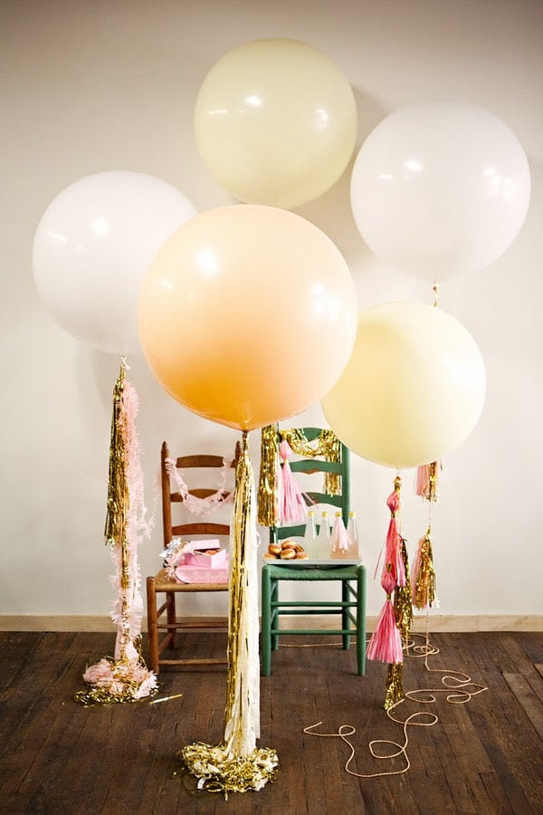 13 Ways to Use Balloon Decorations in Shower Celebrations homesthetics decor (8)