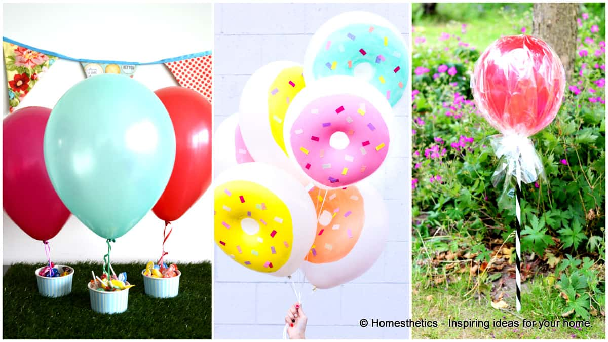 13 Ways to Use Balloon Decorations in Shower Celebrations