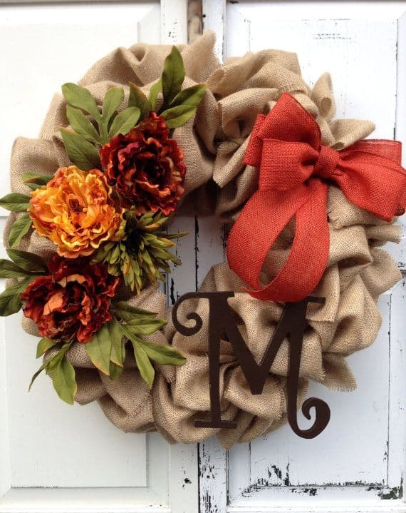 15 Simple Breathtakingly Ingenious and Beautiful Burlap DIY Fall Decor For Your Home homesthetics decor (8)