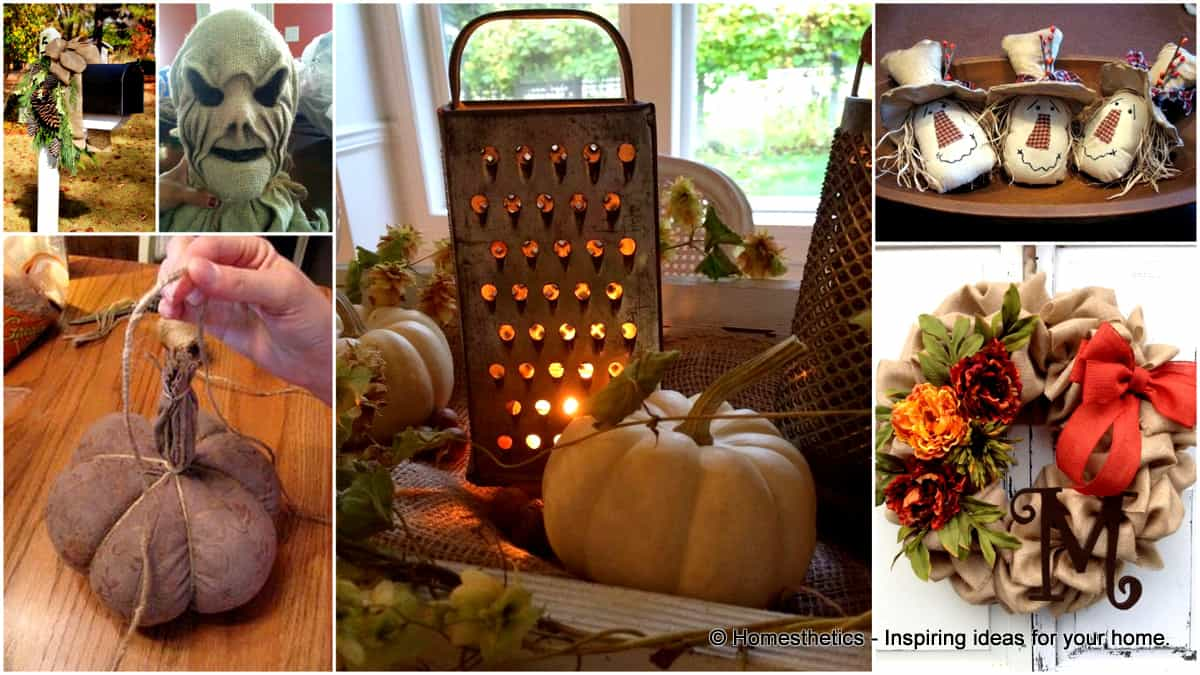 fall home decor 17 ingenious and beautiful burlap diy fall decor for your home 12405