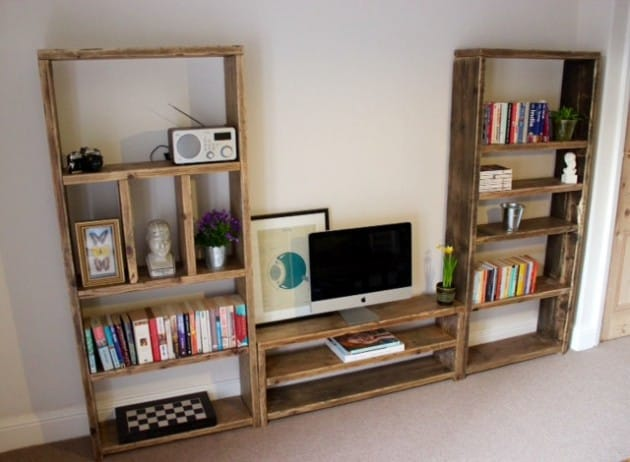 19 Smart and Beautiful DIY Reclaimed Wood Projects To Feed Your Imagination homesthetics decor (10)