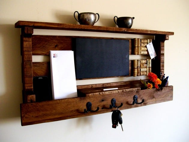 19 Smart and Beautiful DIY Reclaimed Wood Projects To Feed Your Imagination homesthetics decor (11)
