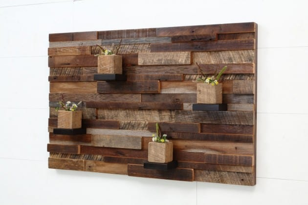 19 smart and beautiful diy reclaimed wood projects to feed Reclaimed wood wall art for sale