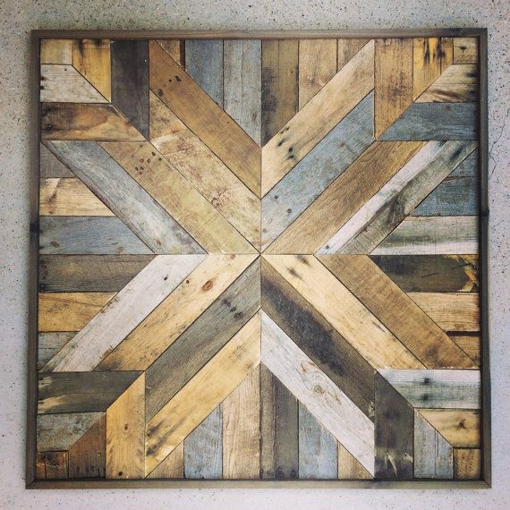 Easy Reclaimed Wood Art Projects