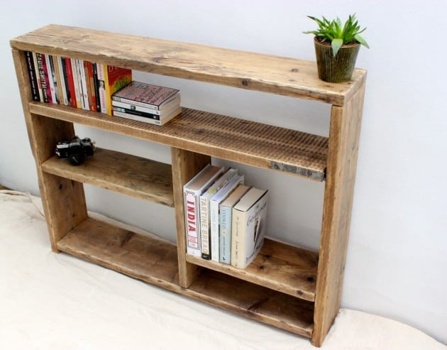 bookshelf furniture to projects wood reclaimed crates handmade bookcase
