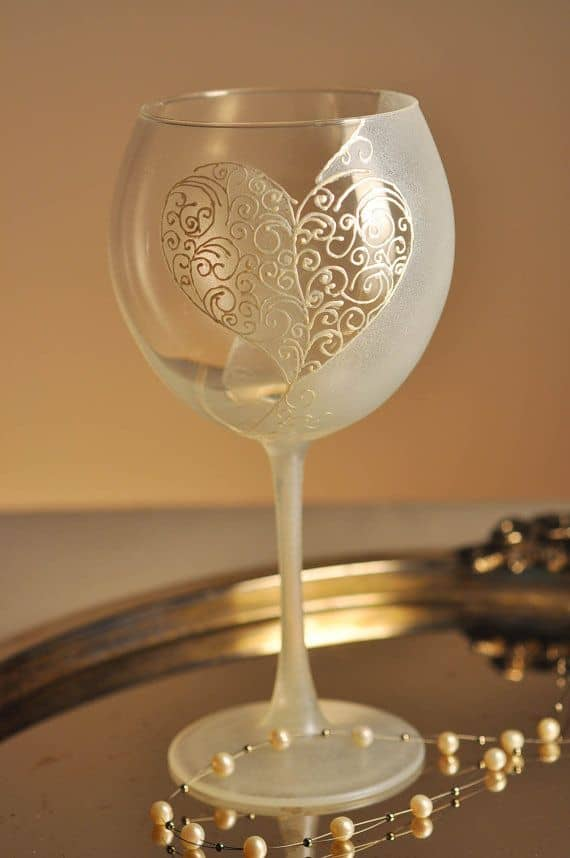 19 painted wine glass ideas to try this season for What paint do you use to paint wine glasses