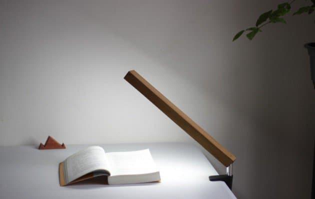 #18 superb minimalist led wood lamp