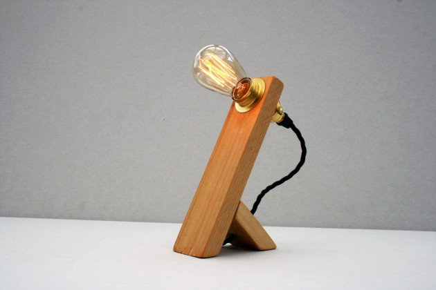 #5 minimal elements can highlight an Edison lamp