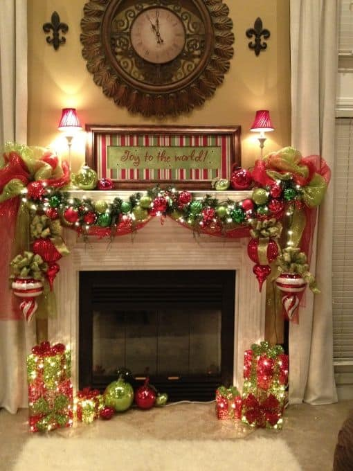 20 mantel christmas decorating ideas to make your home more festive this holiday 1