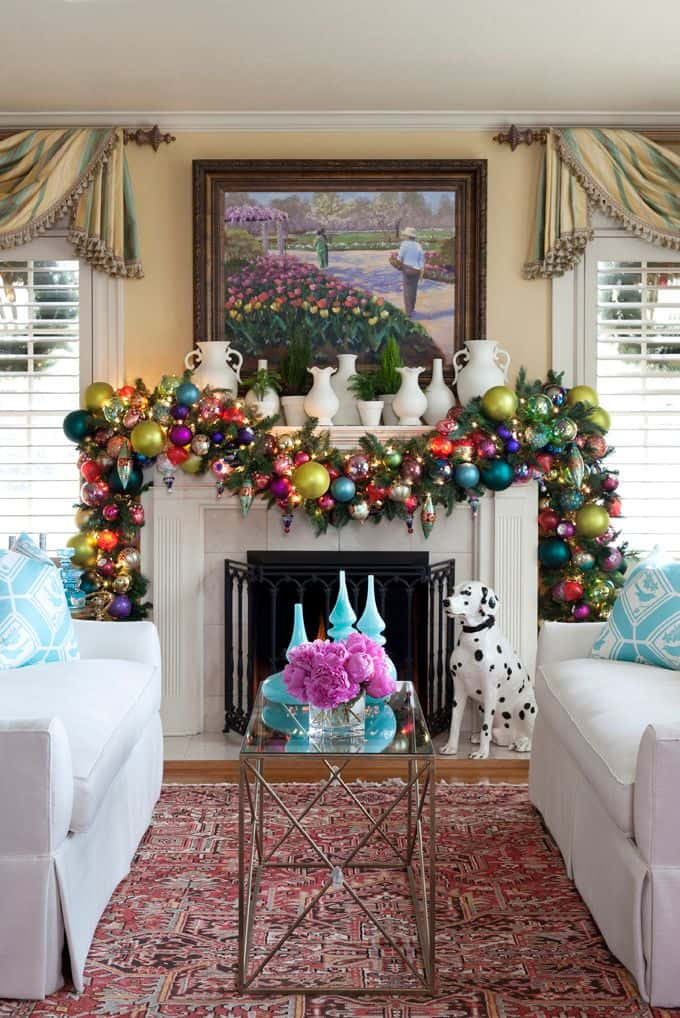 20 mantel christmas decorating ideas to make your home more festive this holiday 18