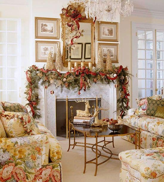 19 Mantel Christmas Decorating Ideas To Make Your Home More Festive ...