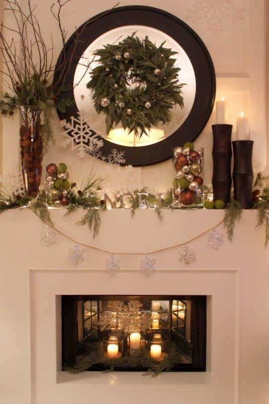 Source: Startribune.com · 20 Mantel Christmas Decorating Ideas To Make Your  Home More Festive This Holiday (9)