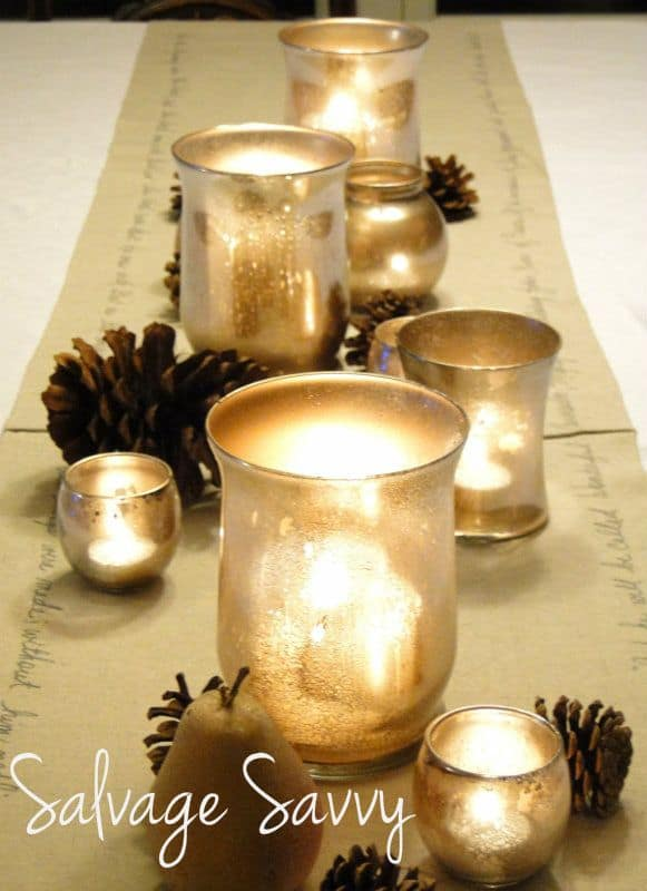 31 Different Ways And Diy Items To Hold Your Votive Candles