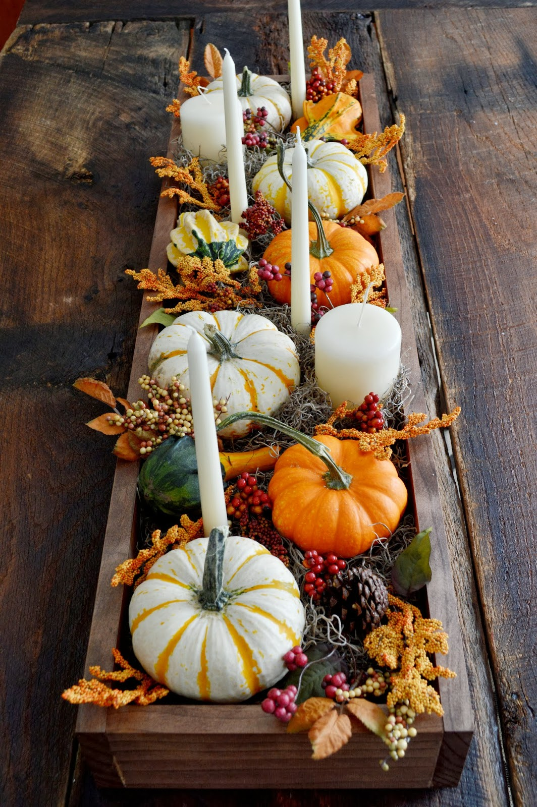 Insanely beautiful thanksgiving centerpieces and table