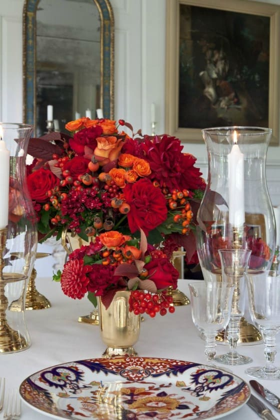 23+ Insanely Beautiful Thanksgiving Centerpieces and Table Settings homesthetics decor ideas (7)