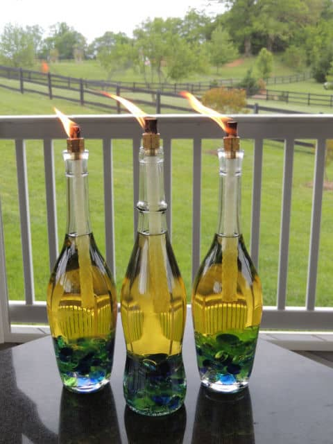 23 Simply Breathtakingly Ingenious Wine Bottle Crafts Worth Realizing homesthetics decor (15)