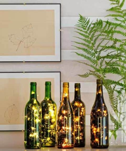 23 Simply Breathtakingly Ingenious Wine Bottle Crafts Worth Realizing homesthetics decor (19)