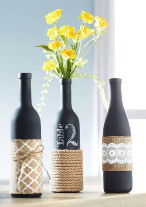 23 Simply Breathtakingly Ingenious Wine Bottle Crafts Worth Realizing homesthetics decor (21)