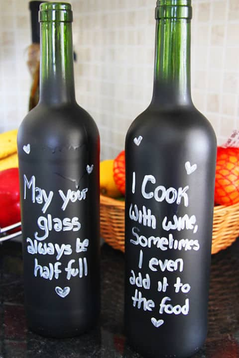23 Simply Breathtakingly Ingenious Wine Bottle Crafts Worth Realizing homesthetics decor (23)