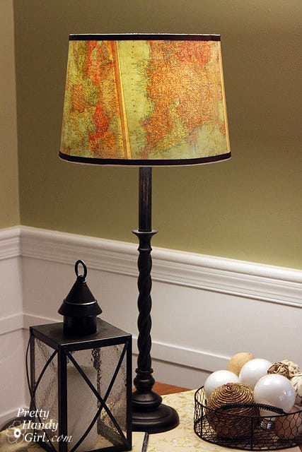 #16 use a vintage lamp to reveal your traveler side