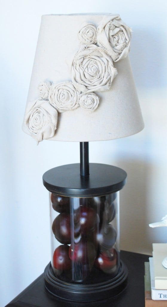 #20 sculpt beautiful canvas rosettes on lampshades