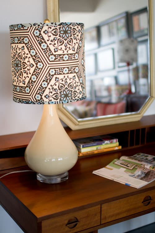 #6  Enhance you lamp with a custom printed shade