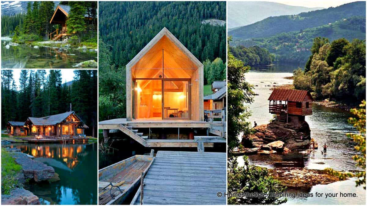 23 Spectacular Wood Cabins Taking Advantage of Majestic Landscapes