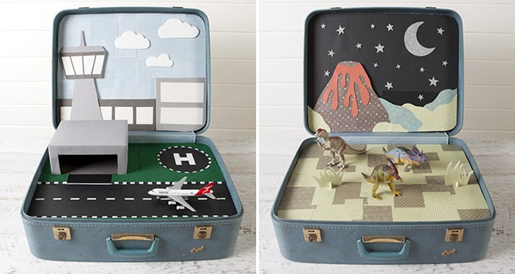 25 Beautifully Creative Ways to Recycle Vintage Suitcases at Home homesthetics decor (16)