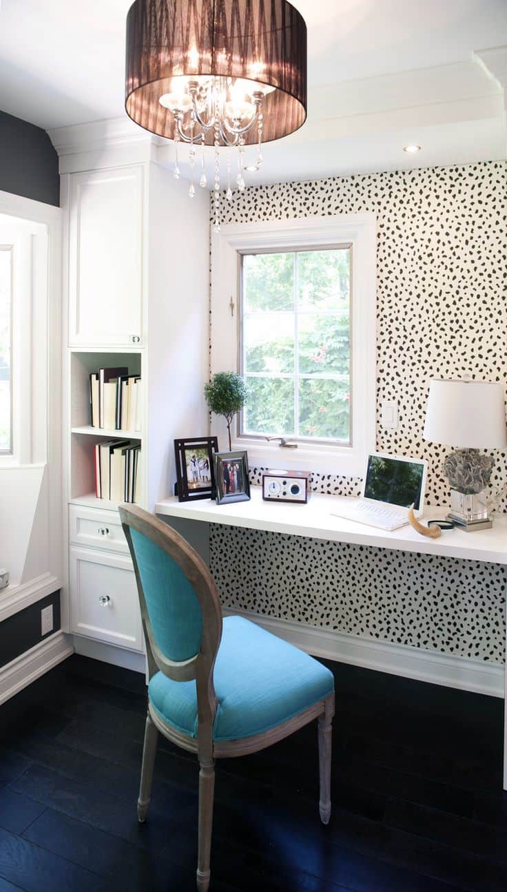 Home Office Room Design: 25 Conveniently Designed Home Office Space Ideas