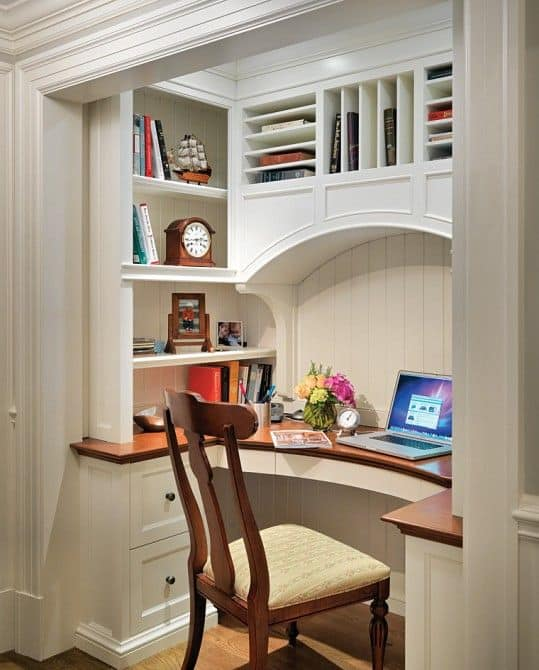 25 Conveniently Designed Home Office Space Ideas (12)