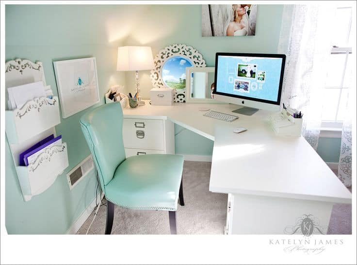 Good 25 Conveniently Designed Home Office Space Ideas (13)