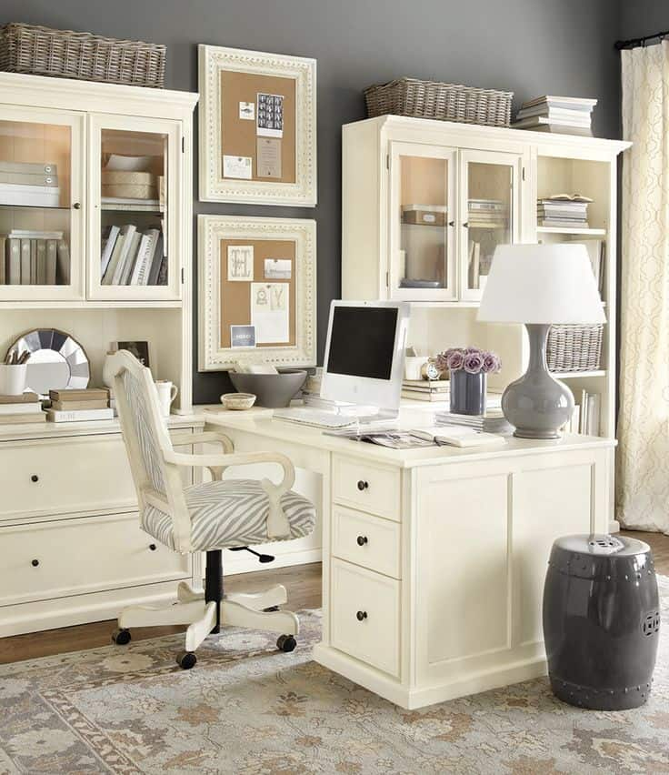ideas for office space. 25 Conveniently Designed Home Office Space Ideas (14) For M