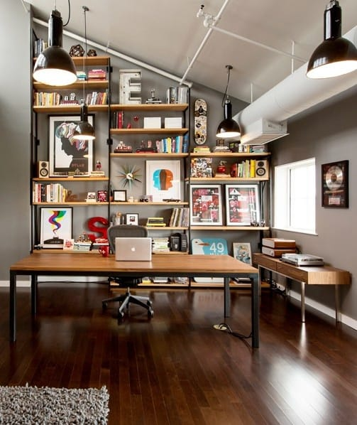 25 Conveniently Designed Home Office Space Ideas (16)