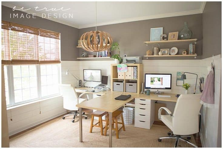 25 Conveniently Designed Home Office Space Ideas (17)