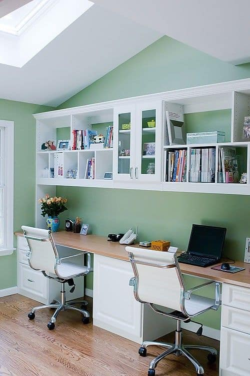 25 Conveniently Designed Home Office Space Ideas (3)