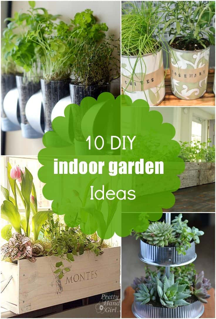 Creative Indoor Herb Garden Ideas Part - 49: 30 Awesome Indoor Garden Planting Projects To Start In The New Year (29)
