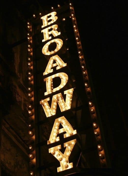 #13 The Broadway Theater located on Broadway