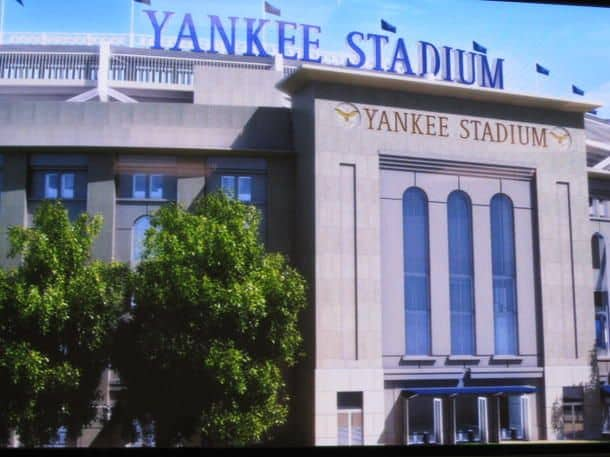 #17 The Yankee stadium located in Bronx