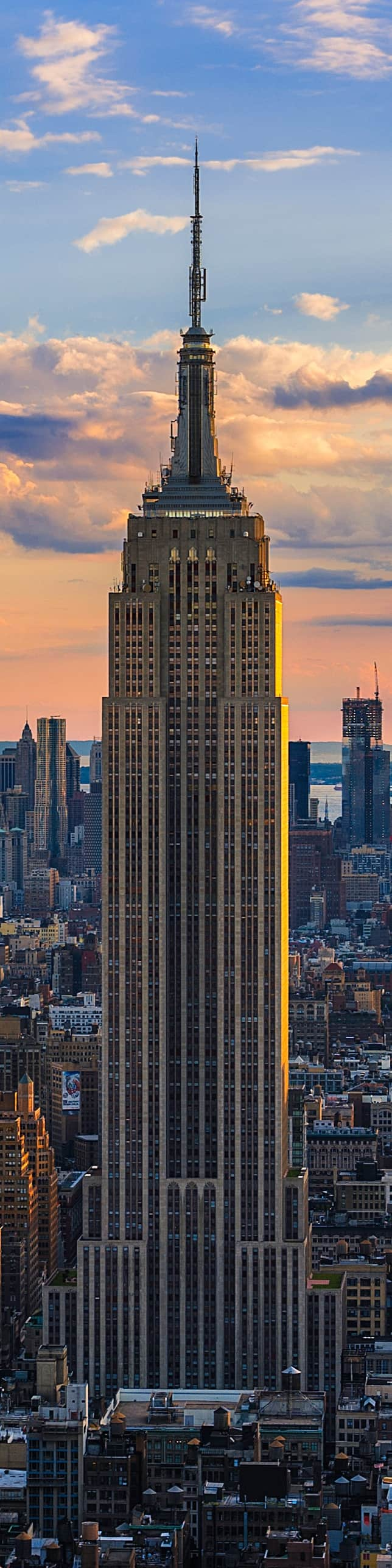 #28 The Empire State Building is a 102 story skyscraper