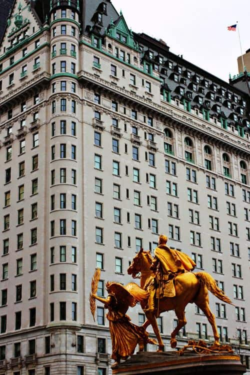 #9 The plaza hotel is located midtown Manhattan in New York