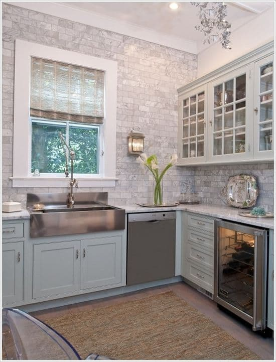 Best  Gorgeous Kitchen Cabinets For An Elegant Interior Decor Part Glass Cabinets
