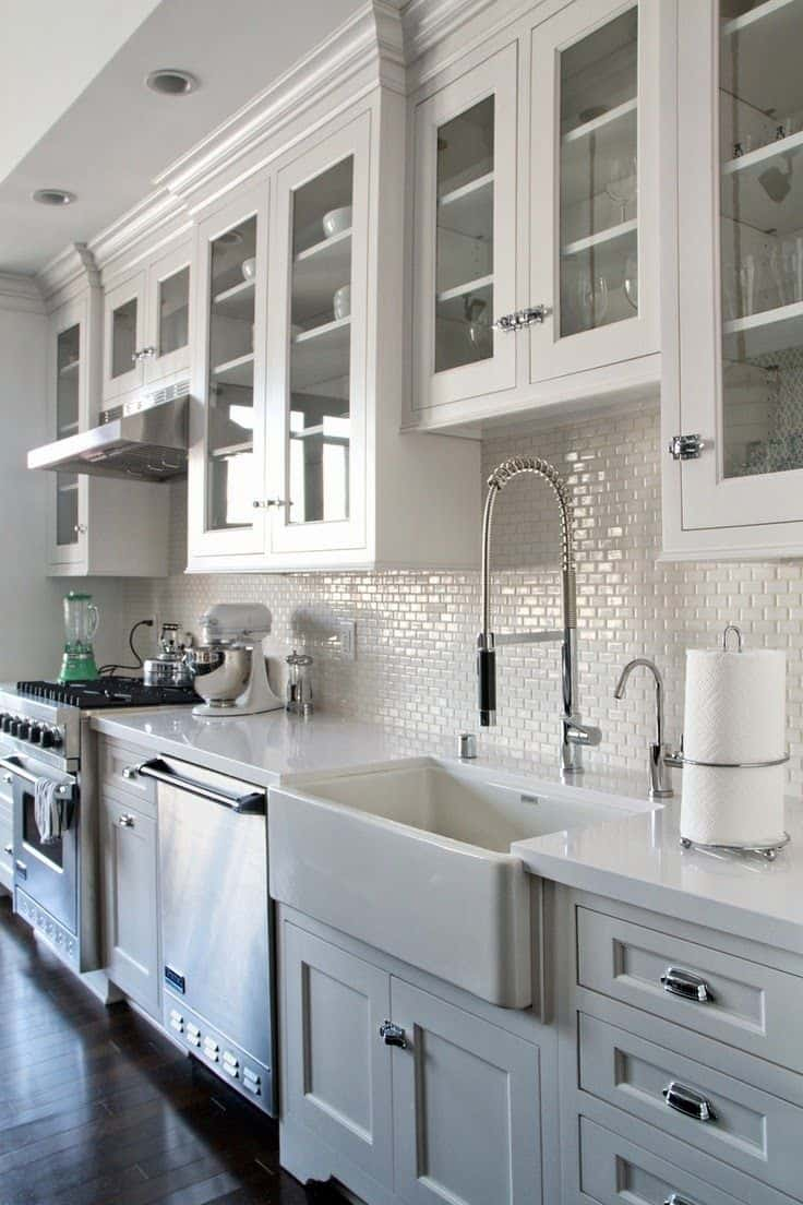 30 Gorgeous Kitchen Cabinets For An Elegant Interior Decor ...