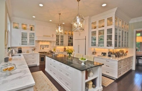 30 Gorgeous Kitchen Cabinets For An Elegant Interior Decor Part 2 Glass Cabinets (16)