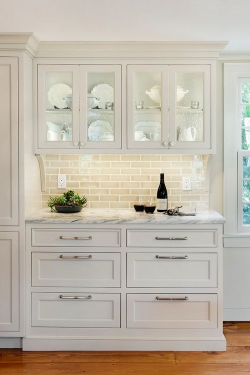 30 Gorgeous Kitchen Cabinets For An Elegant Interior Decor Part 2 Glass Cabinets (20)