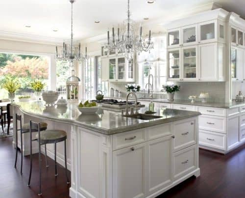 30 Gorgeous Kitchen Cabinets For An Elegant Interior Decor Part 2 Glass Cabinets (23)